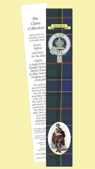 For Everything Genealogy - Ogilvie Clan Tartan Ogilvie History Bookmarks Set of 2, $3.00 (http://www.foreverythinggenealogy.com.au/ogilvie-clan-tartan-ogilvie-history-bookmarks-set-of-2/)