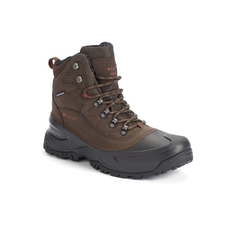 Columbia Snowcross Mid Thermal Coil Men's Waterproof Winter Boots, Size: 12, Lt Brown