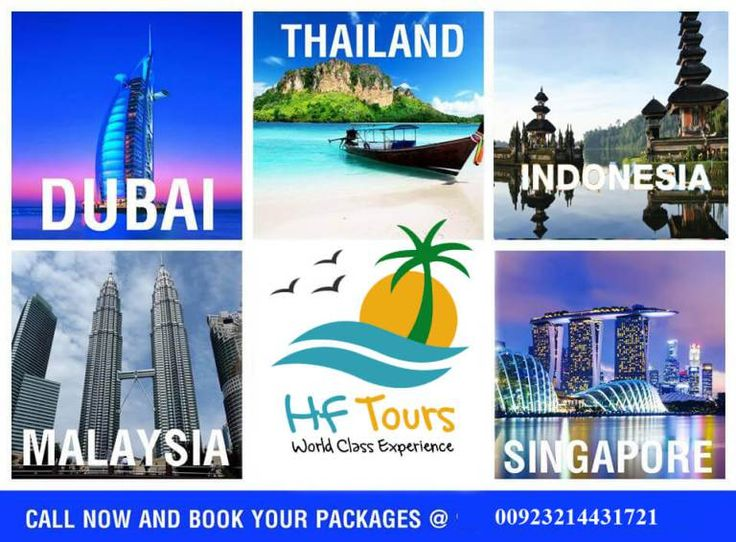 5-Countries - 1 Treat .. Dubai - Malaysia & Thailand - Indonesia and Singapore Tours Package Offer – HF Tours