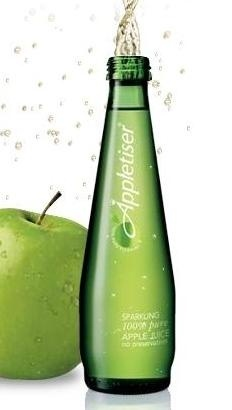 Appletiser ~ South African soda. Tried this for the first time when I traveled to South Africa...absolutely addictive but can't find it in Spain...:/