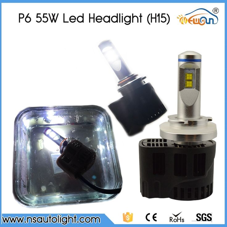 (94.90$)  Watch here  - 2017 New P6 Led Car Headlight Bulbs H15 5200Lm 55W High Power 3000K/4000K/5000K/6000K Car Styling Lamp Waterproof No Warning