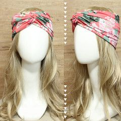 Peach Peony Headband Turban • idr 65,000 or $6.5 • FREE shipping around Indonesia • worldwide shipping • LINE : reginagarde • shop online www.reginagarde.com