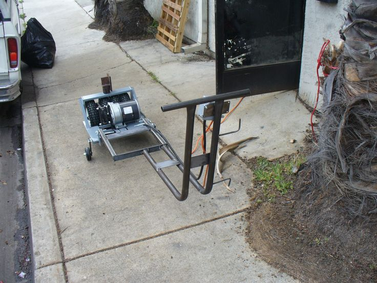 1000 Images About Trailer Mover On Pinterest Bike