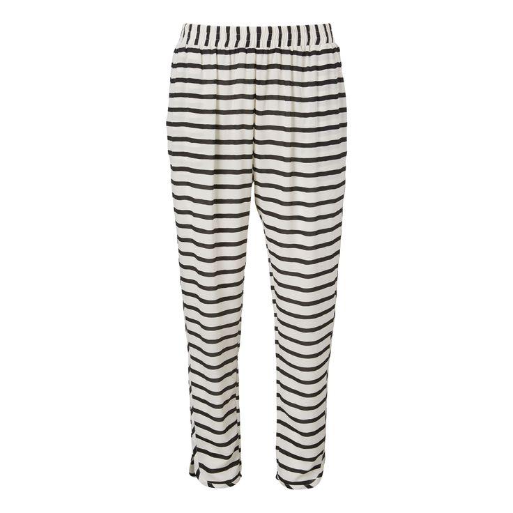 Jolene pants - stripe print