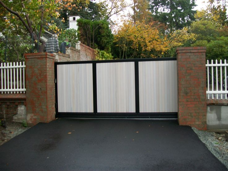 Best images about wood gates by automated on