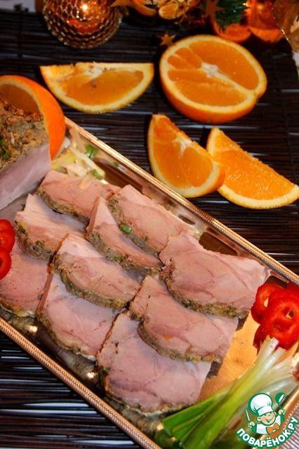 Маринованная запеченная свинина по-кубински - кулинарный рецепт