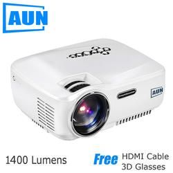 Projector Lumens LED Projector Support 1920x1080 with ATV Port 3D MINI Beamer for Home Cinema
