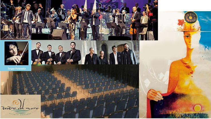 Mare Aperto Riccione - Festival dell'Arte e della Musica settembre 2014. Progetto culturale e artistico Russo e Italiano, mostra di opere del XVI e XVIII secolo