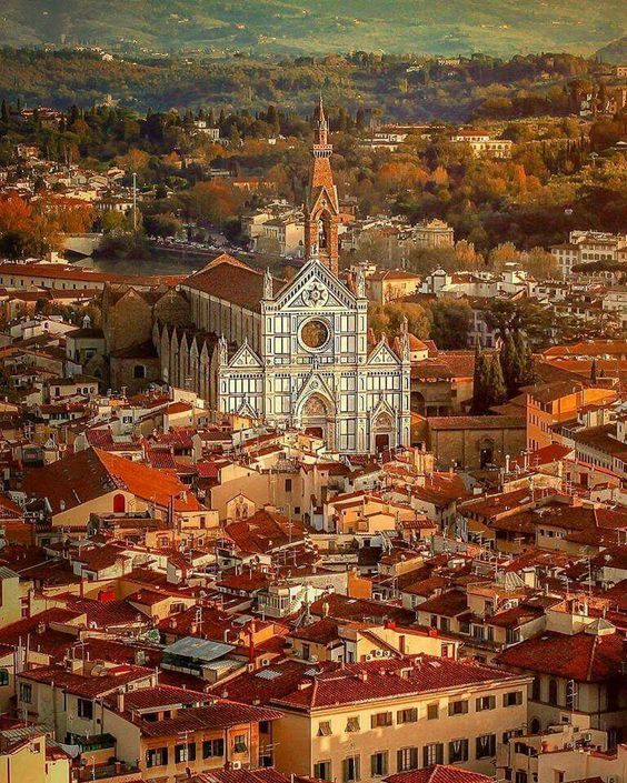 Vibrant Florence, Italy.