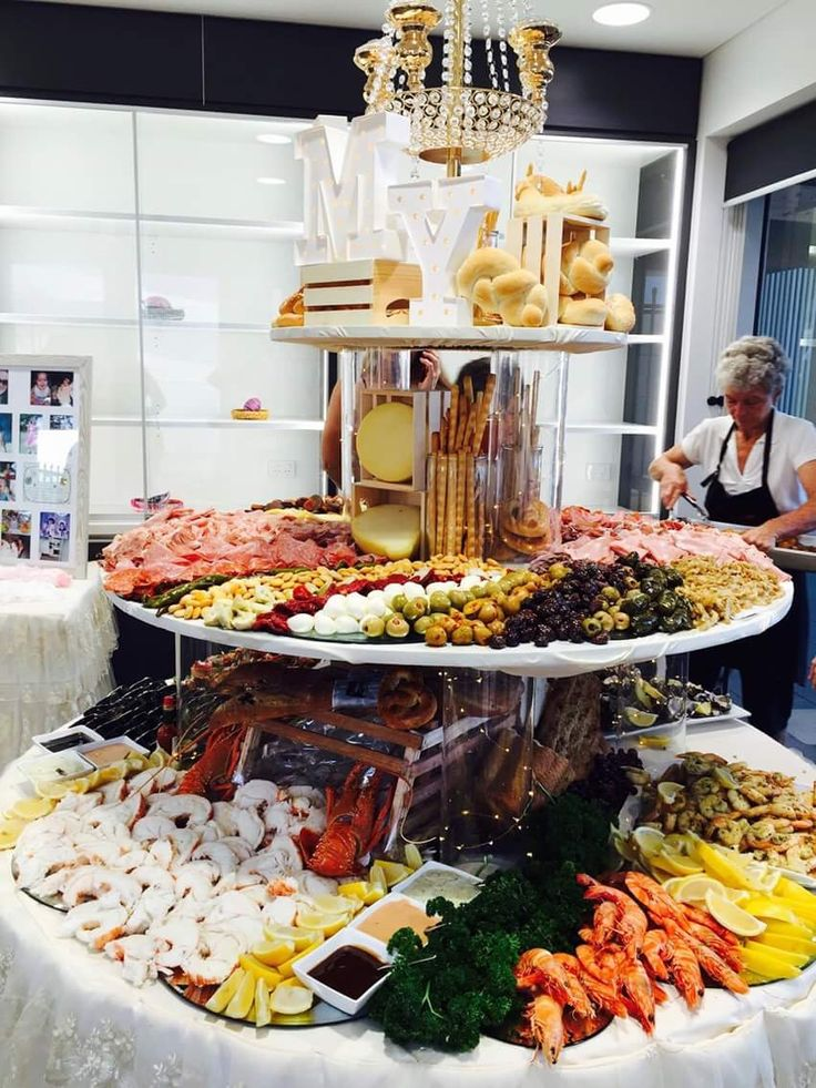 Buffet Food Ideas Wedding Mariage Marriage Buffets Weddings