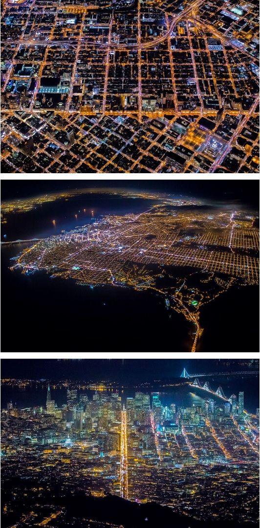 The amazing San Francisco at night