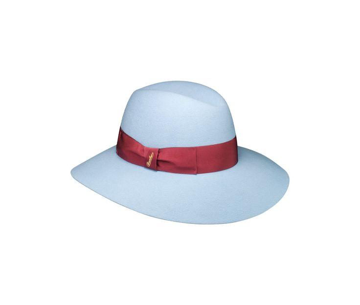 Brushed felt Claudette hat. Product code: 270362. Shop it here: http://shop.borsalino.com/en/womans-collection/fall/winter/felt-hats-carry-over/brushed-felt-claudette.
