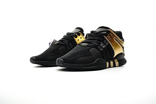 online retailer cacec 29735 Cheap BB1310 Adidas EQT Support ADV Primeknit 93 Black Metallic Gold  Sneakers Mens