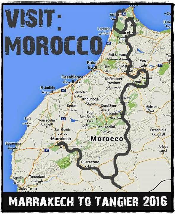 Our overland adventure trip between Marrakech and Tangier, Morocco www.overlandingwestafrica.com/marrakechtotangier