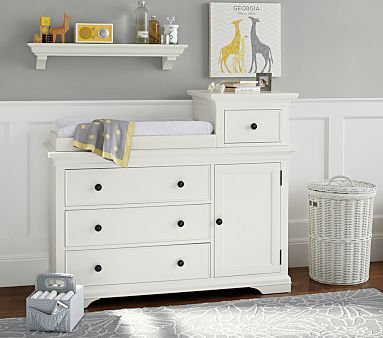 Larkin Hi Lo Changing Table In Simply White