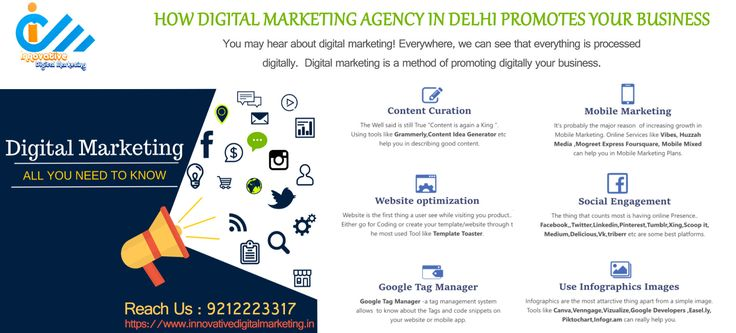 How Digital Marketing Agency in Delhi Promotes Your Business  You may hear about digital marketing! Everywhere, we can see that everything is processed digitally. But here, digital marketing is a method of promoting digitally your business.  It covers various aspects, a marketer can utilize to promote their business and boost sales along with earning ranks on search engines.  Innovative Digital Marketing is a leading digital marketing agency in delhi and serving clients of this historical…