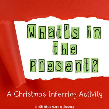 Christmas inferring. Read the clues and infer what is under the wrapping.