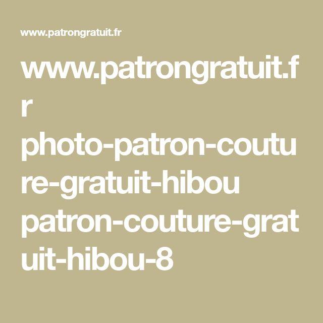 www.patrongratuit.fr photo-patron-couture-gratuit-hibou patron-couture-gratuit-hibou-8