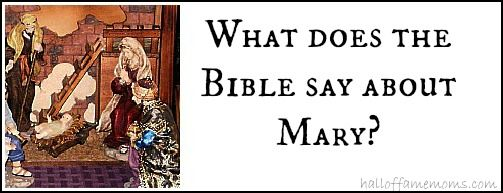 What does the bible say about Mary, Jesus' mother? #thetruth