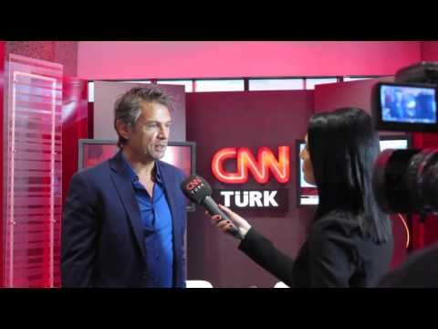 Interviewed by CNN | Maarten Schäfer