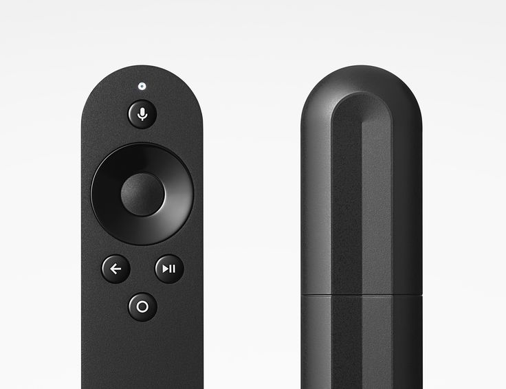 Front and back views of Player remote