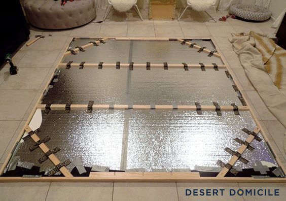 How to Mount and Frame a Large Tapestry | Desert Domicile