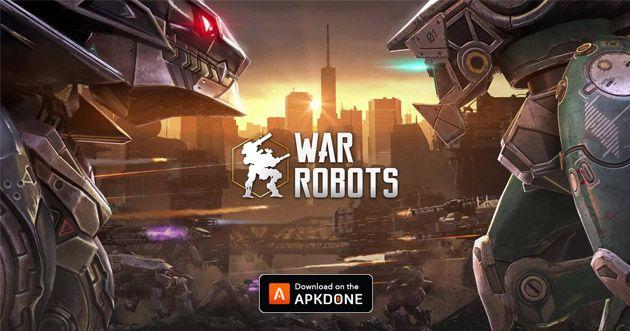 War Robots Mod Apk Obb V5 8 0 Download Unlimited Bullets For