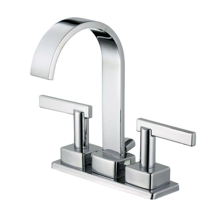 This Schon 4 in  centerset faucet is the perfect choice for your bathroom  make over  Its modern design will add a sleek look to your bathroom. 17 Best images about Chrome Bathroom faucets and shower heads on