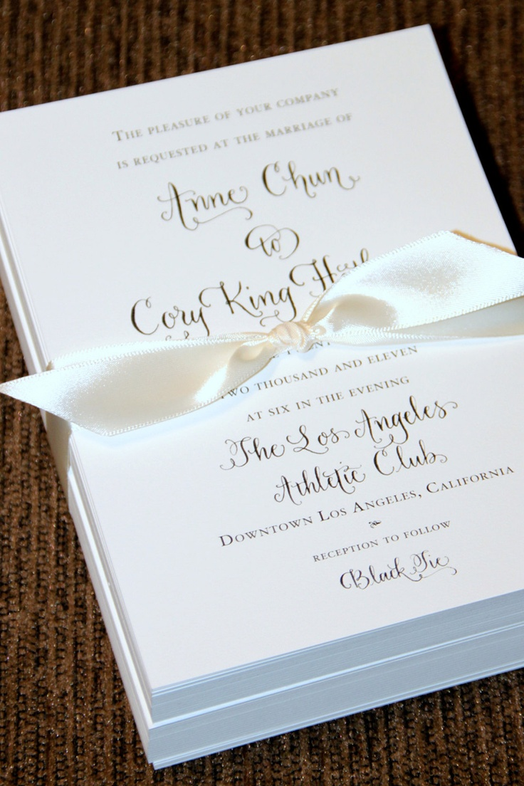 letterpress wedding invites london%0A Custom Calligraphy Letterpress Wedding Invitation  or Digital Design for  Print  Partial Calligraphy