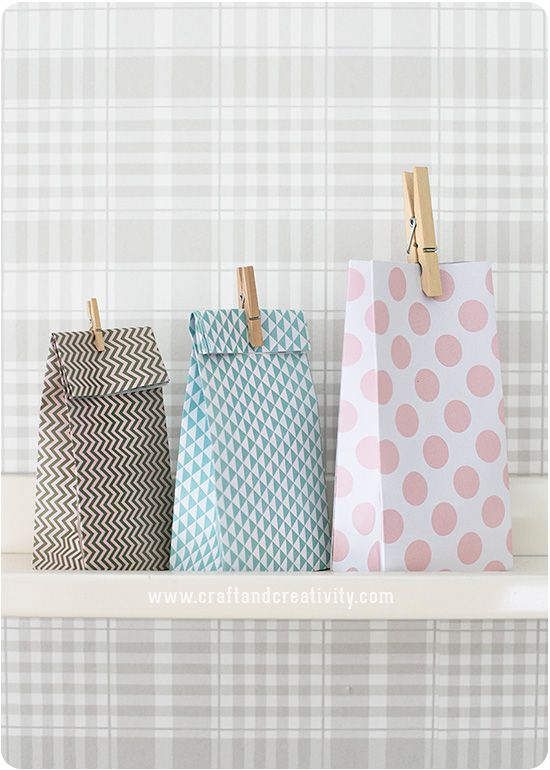 Make your own gift bags - Craft & Creativity