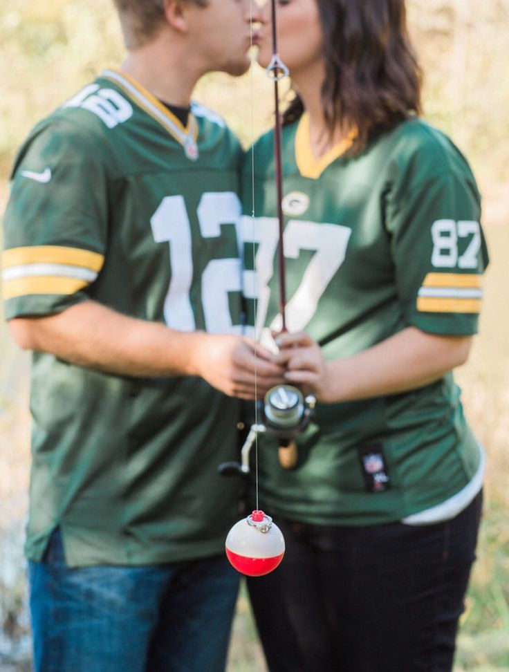 Fishing Engagement Picture