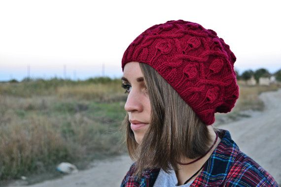 beanie hat knit, womens beanie hats, womens hats, ladies winter hats, gifts for her, wool hat