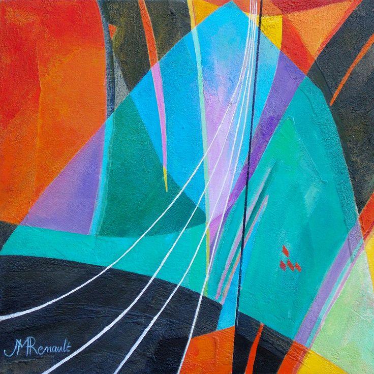 Territoires infinis, contemporain, oeuvre originale, galerie d'art, artiste peintre, galerie peinture, acrylique, peinture abstraite, Territoires infinis.