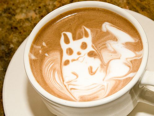 The Best Latte - Pikachu Swirly: Coffee Milk, Geek, Pikachu Coffee, Pokemon, Latte Art, Food, Pikachu Latte, Coffee Art