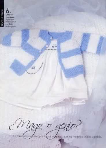 Otras chaquetitas de bebés (Para otoño-invierno)(Matilde)