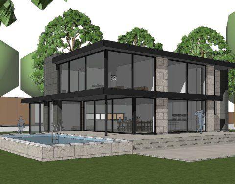 Moderne woning - meer woningen bekijken www.bongersarchitecten.nl