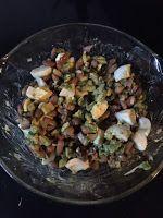 Sia's weblog: Champignons en scholfilet uit de airfryer, heerlijk kabeljauw gerecht, klooien met vacumeren en sous vide, Biryani uit de slowcooker. En ook nog een heerlijk soepje.