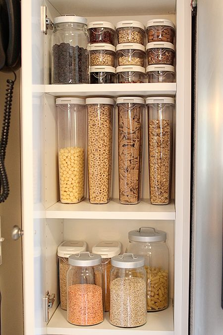 Gluten free storage. IKEA 365 canisters Containers for Cereal, Pasta, Rice, Protein, Flour and Sugar
