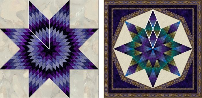 free lone star quilt pattern instructions