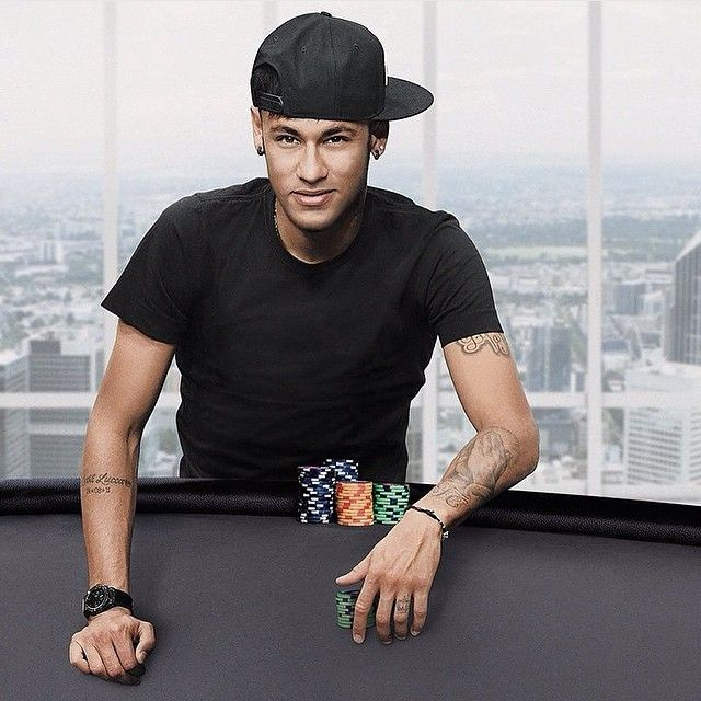 Neymar poker stars