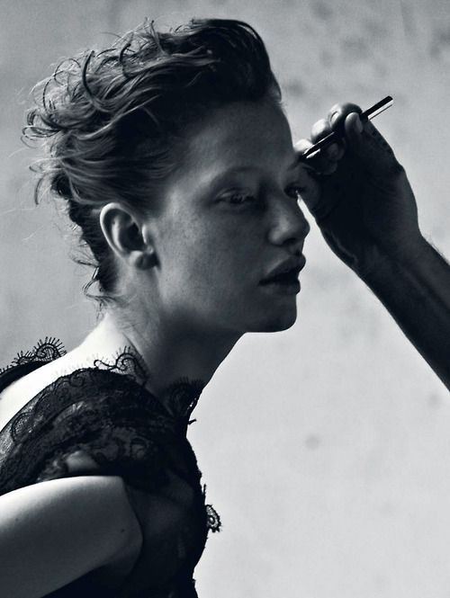 Vogue Italia September 2013 Supplement. Milagros Schmoll by Peter Lindbergh