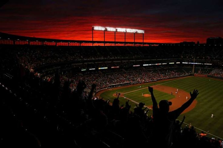 Sunsets at ballparks:     BALTIMORE, MARYLAND  -   During the match between the Baltimore Orioles and the New York Yankees at Camden Yards on Sept. 2, 2016.