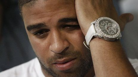 Brazilian footballer Adriano charged