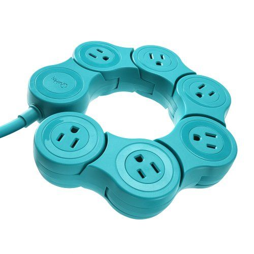 Quirky PPVPP-TL01 Pivot Power POP - Teal Quirky