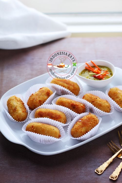 Indonesian Potato Croquette