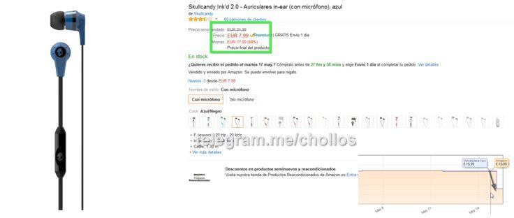 Auriculares Skullcandy Inkd 2.0 solo 799 - http://ift.tt/1Tfa1pJ