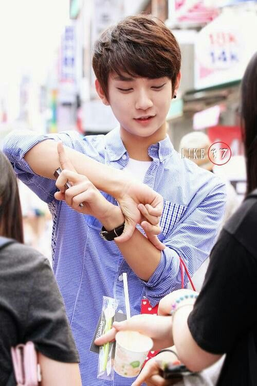 So I'm now in love with the new Kpop group SEVENTEEN... especially Joshua... he's mine! JISOO IS MINE!!!