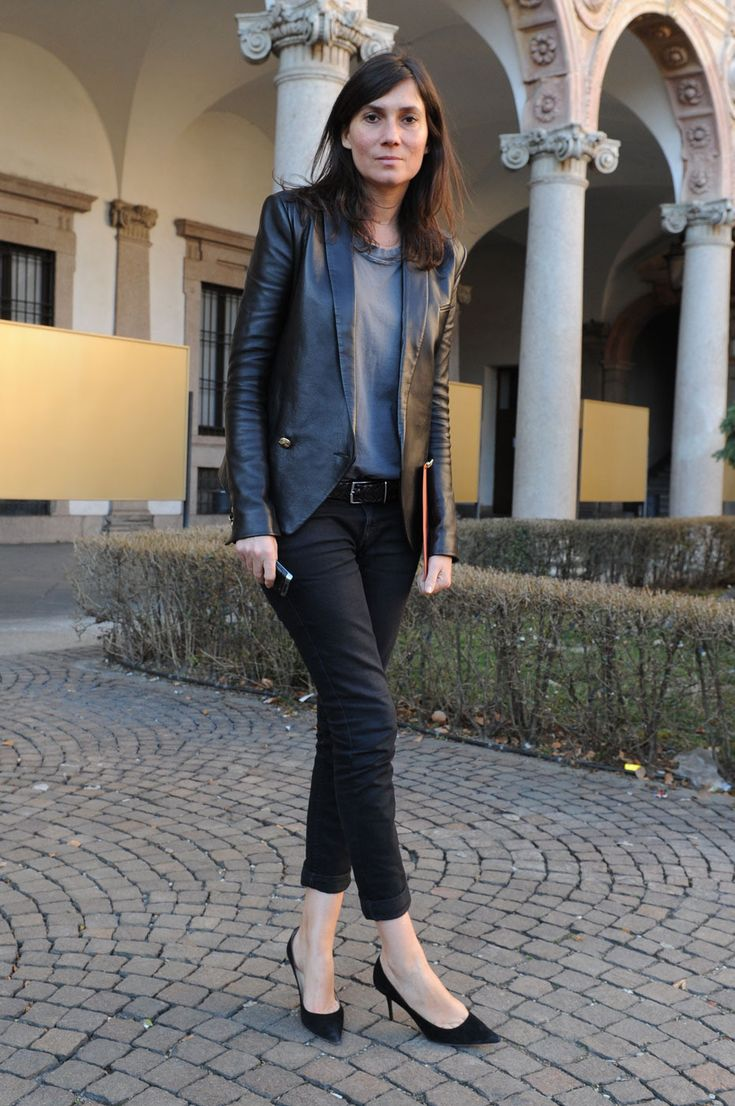 la modella mafia Emmanuelle Alt Vogue Paris model off duty street style 5