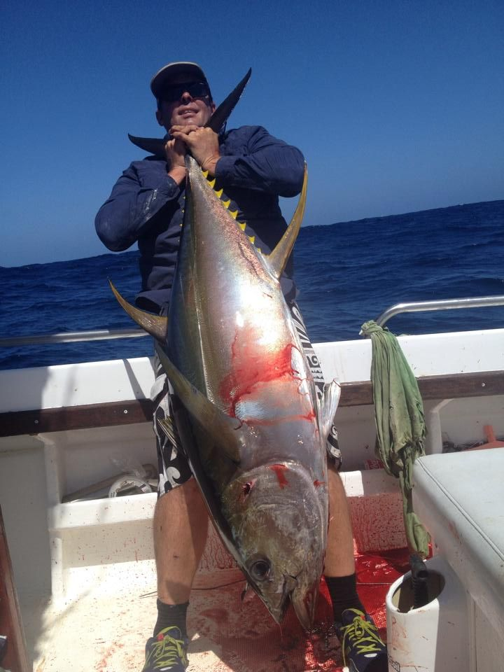 Big Fish, Big adrenaline Check out our catches at www.xtremecharters.co.za
