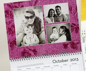 Personalized Shutterfly calendars. A must for any girl who likes to reminisce on sweet memories. Perfect for a college dorm room!